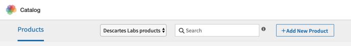 Catalog UI Create Product Button